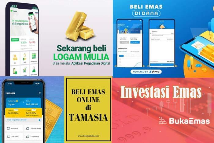 Aplikasi Investasi Emas Yang Aman dan Di Jamin Bikin Kamu Untung